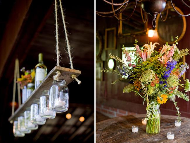 hanging mason jar holders