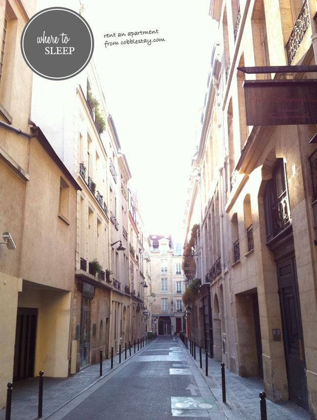 apartment to rent in paris