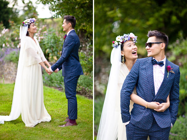 an english bohemian summer wedding