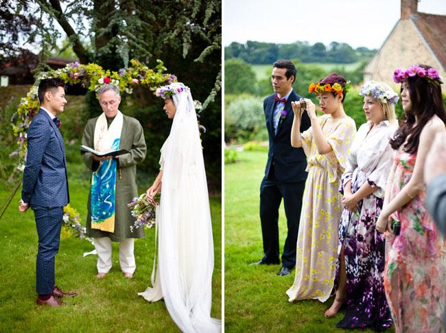 62de8e7e23d5 An English Bohemian Summer Wedding