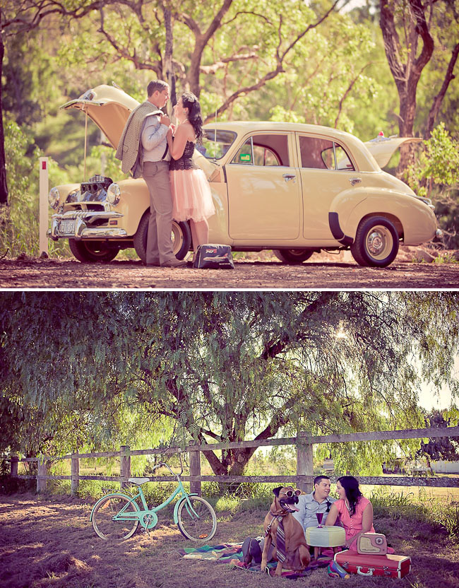 vintage-engagement-photos