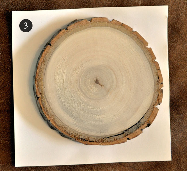 DIY wood table numbers