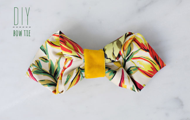 bow tie DIY wedding