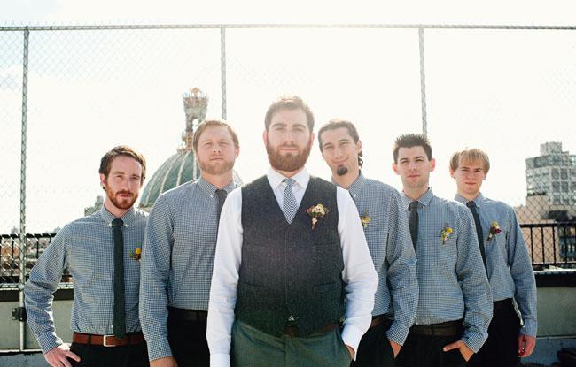 hip groomsmen