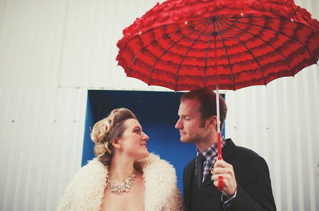 vintage carnival wedding
