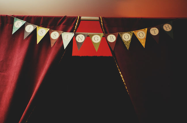 photobooth bunting
