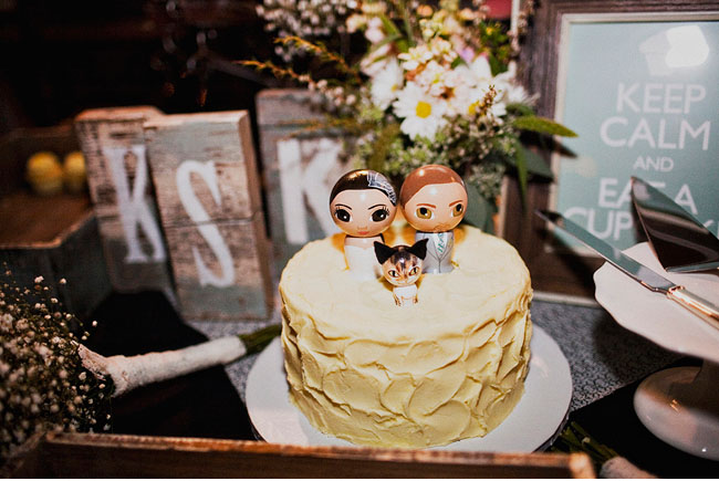 bride and groom cake toppper