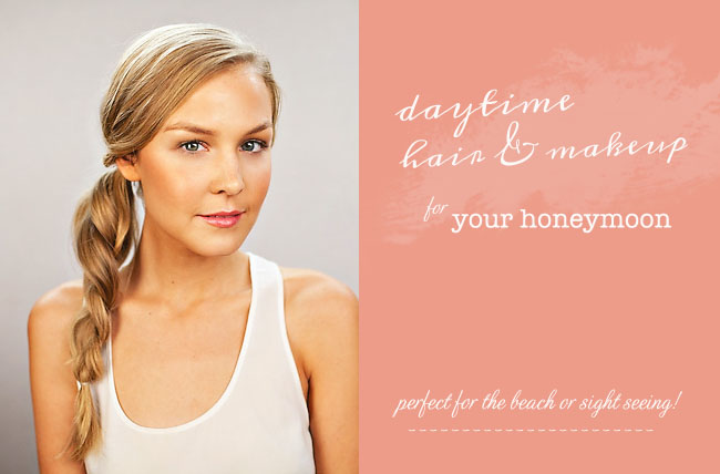 DIY for honeymoon beauty