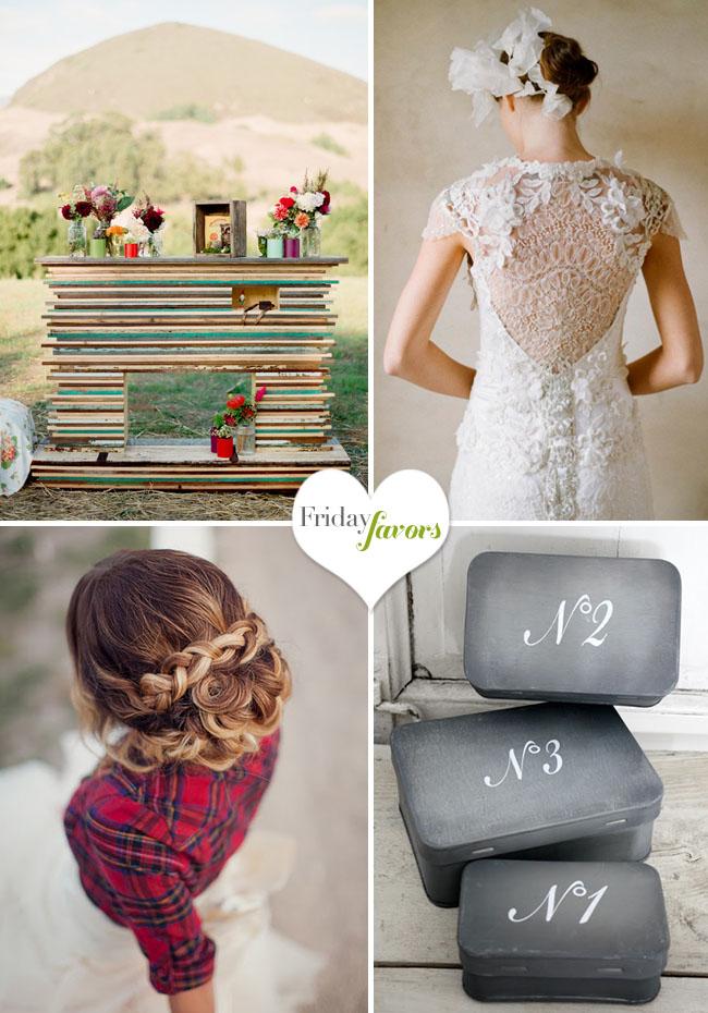 bride with braids