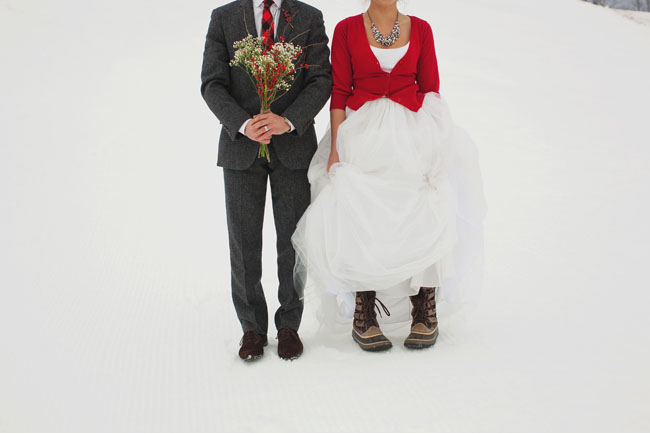 b1f4e2846696 Winter Wedding Ideas  Fun in the Snow - Green Wedding Shoes