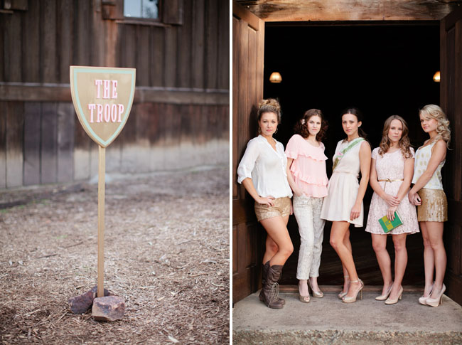 girl scout bridal shower