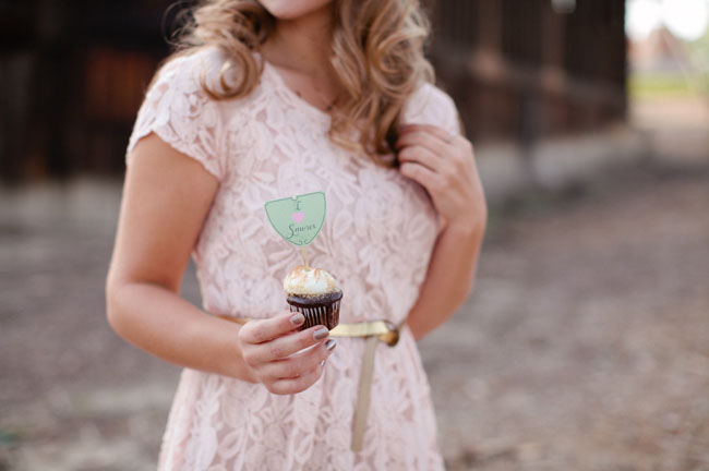 girl scout cupcake