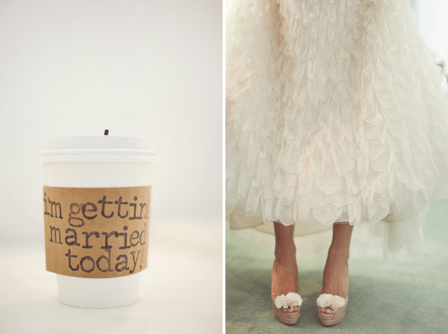 i'm getting married today coffee cozy