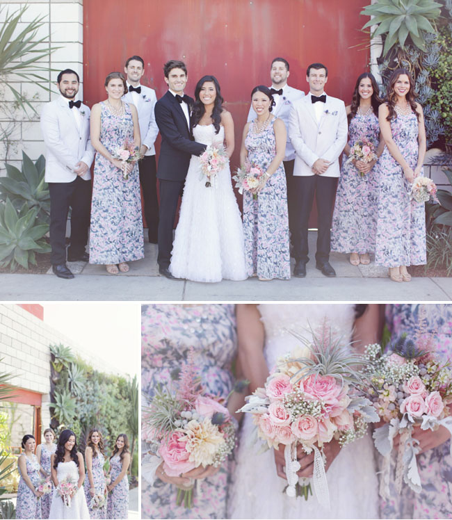 A Whimsical Wedding At The Smog Shoppe In Los Angeles