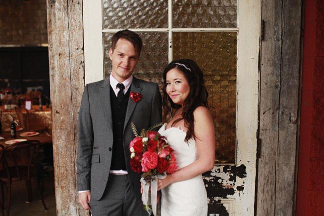 Kate Spade Heart Themed Wedding: Tara + Ryker