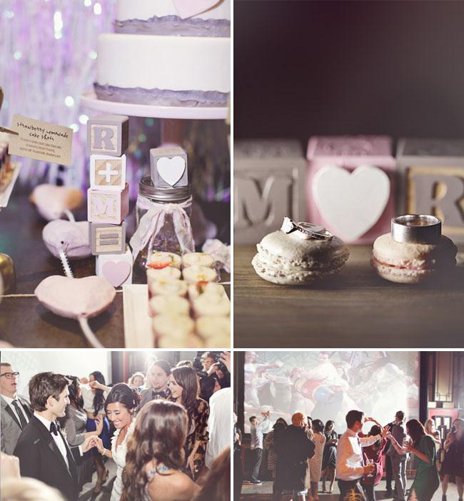 heart wedding details