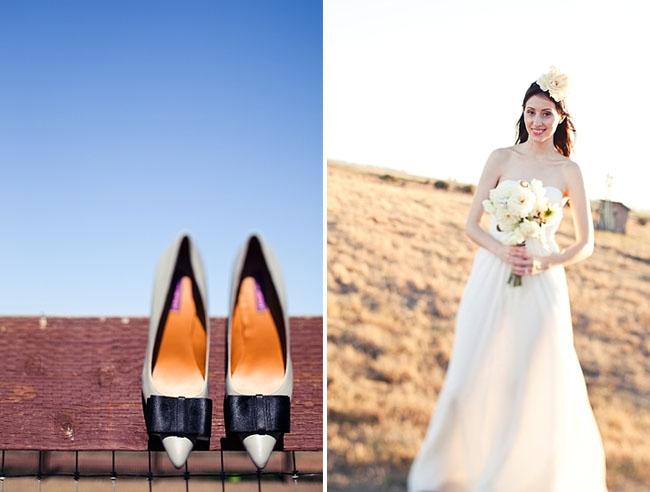 black boq heels