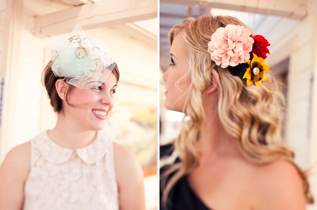 hair acessories for bridesmaids