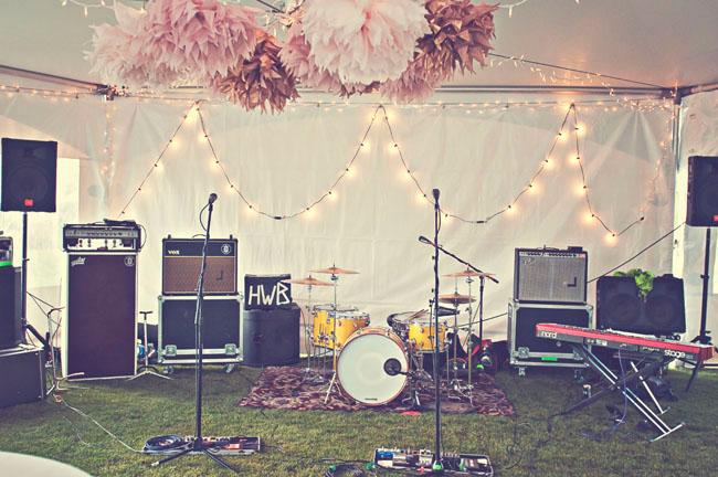 a music filled mountaintop wedding
