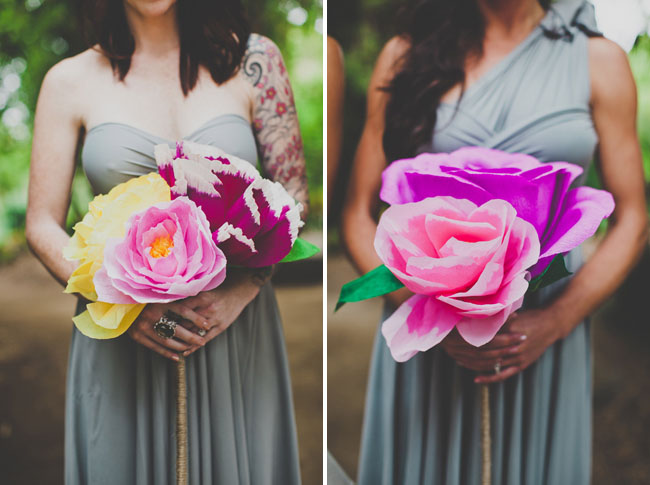 giant paper flower bouquets