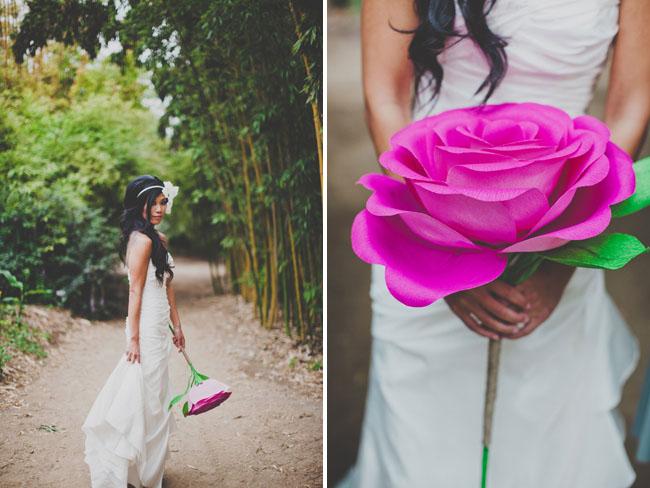 Handmade paper flower wedding nata jess green wedding shoes giant paper flower bouquets mightylinksfo Images