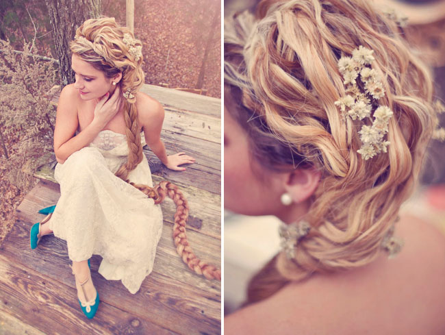 rapunzel bride