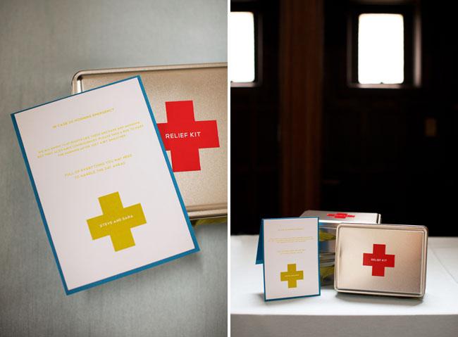 relief wedding kit