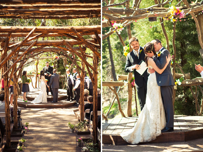 wooded ceremony