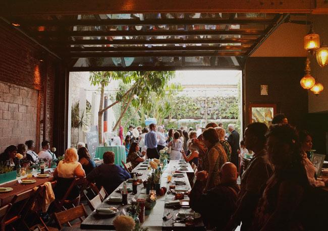 indoor/outdoor reception