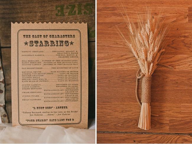 wheat bouquet