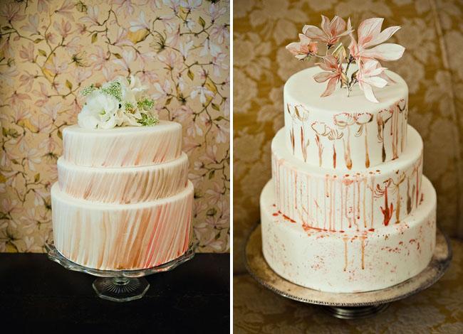 trellis wedding cakes