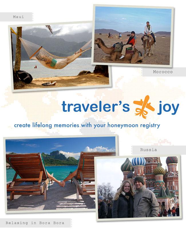 Travelers joy registry