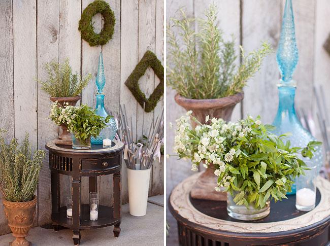 greenery, weddind decor