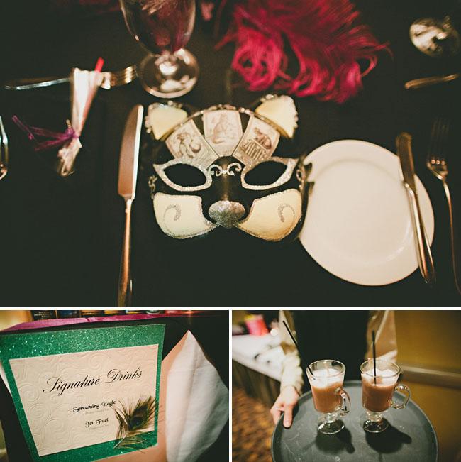 new years eve wedding masks