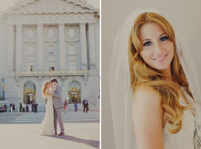 san francisco, bride and groom