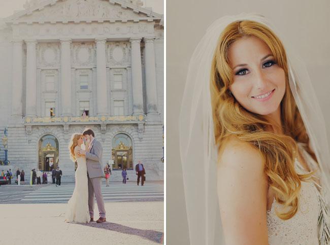 san francisco, bride and groom