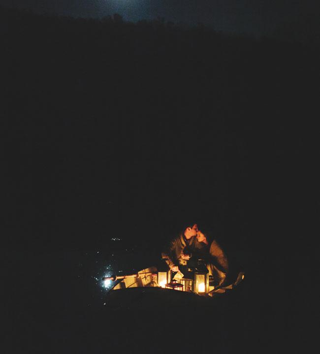 lantern light, camping