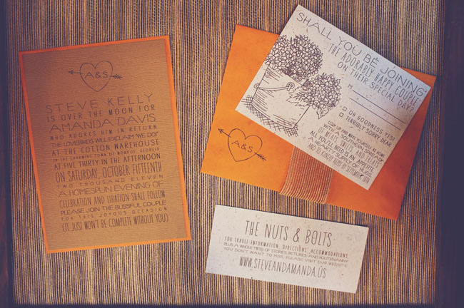 nuts and bolts invitation