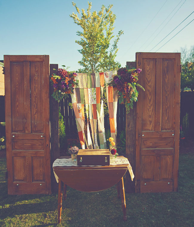 Wedding Altar Music: A Home Inspired Southern Wedding: Amanda + Steve