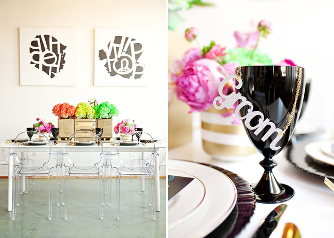 groom cup decor