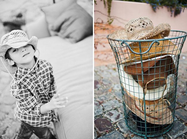 cowboy hats wedding
