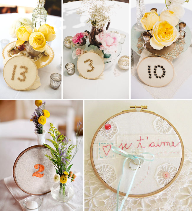 embroidery hoops ring bearer