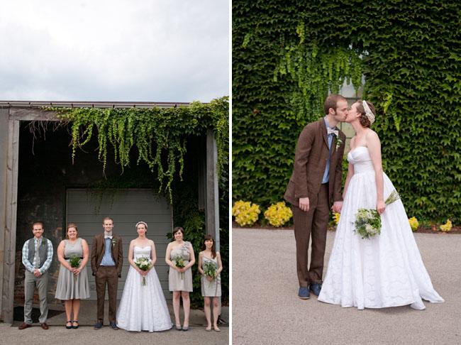 nuetral bridal party colors