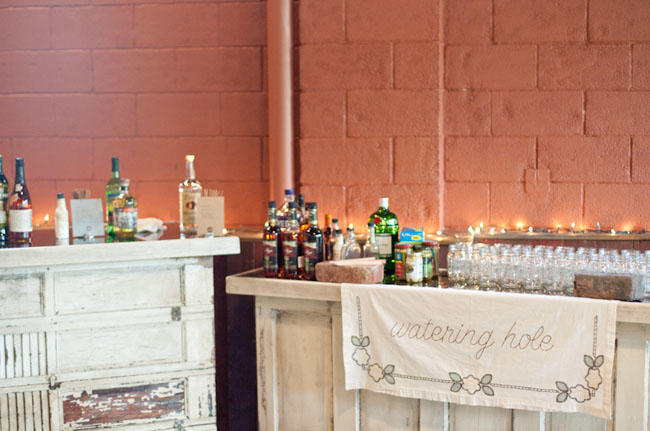 wedding liquor bar