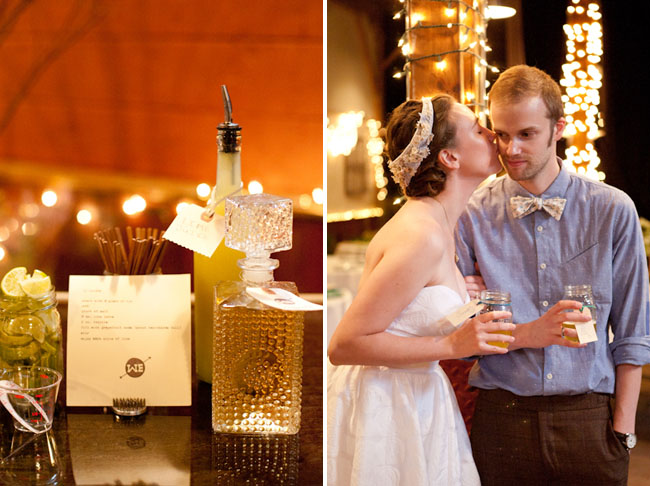 wedding liquor bar