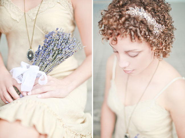 havana engagement lavender bouquet