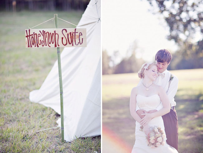 honeymoon suite tent