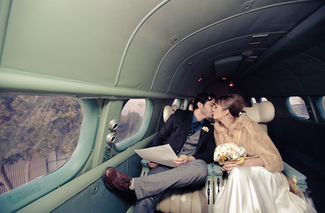 pan am wedding inspiration