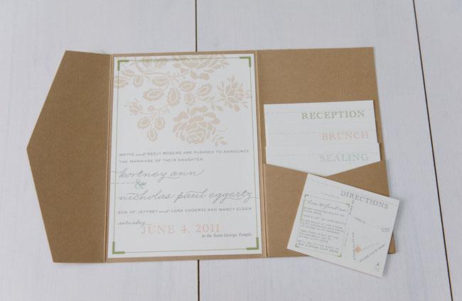 A vintage utah wedding kortney nick wedding invitations filmwisefo
