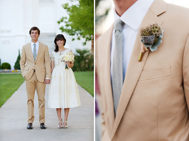 A Vintage Utah Wedding: Kortney + Nick